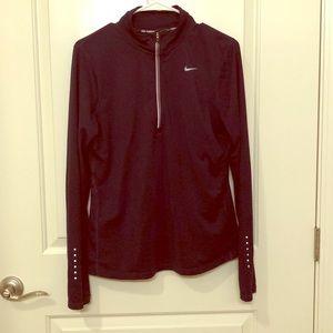 Nike Running Dri-Fit 3/4 Jacket! Dark Purple! 🍆